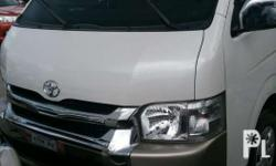 2016 toyota GL Grandia Manual Fresh in and out Low