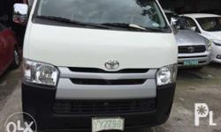 2016 Toyota Hiace Commuter Diesel Manual White 6,000