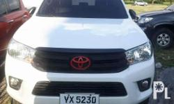 2016 toyota hilux 2.4 G 4x2 Automatic Fresh in and out
