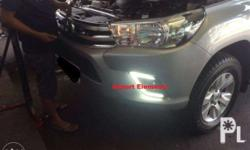 2015 to 2017 Toyota Hilux Revo Foglamp cover with Led
