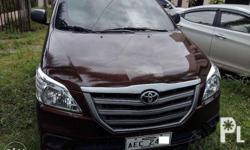 2016 Toyota Innova 2.5e at diesel Automatic