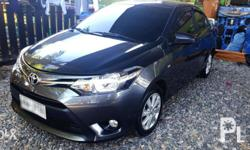 For sale toyota vios E Dark gray Smell like new The car