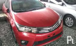 2017 toyota Altis 1.6 G Manual Fresh in and out Low