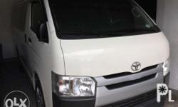 2017 Toyota Hiace Commuter 3.0 Diesel Manual White