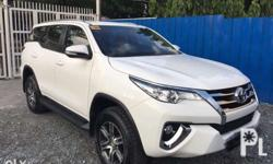 2017 Toyota Fortuner 4x2 Diesel Well maintained No