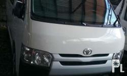 2017 toyota hi ace commuter 3.0 Manual Fresh in and