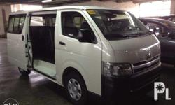 Good day this is the best promo for Hiace Commuter