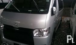 2018 toyota hi ace commuter 3.0 Manual Fresh in and