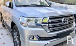 2018 Toyota Land Cruiser VX Platinum For complete