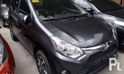 2018 Toyota Wigo 1.0G Manual transmission Well