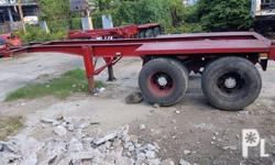 for sale 20ft. skeletal trailer for container van isuzu