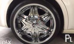22in diablo mags and toyo tires for Chrysler 300C pcd
