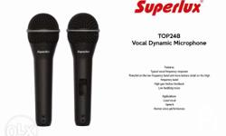 BRAND NEW Superlux 248 S Unidirectional Dynamic
