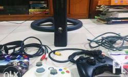 250GB XBOX 360 slim for sale -with games (Halo 3, Call
