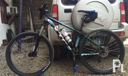 27.5 GIANT XTC frame with SHIMANO groupset pm for