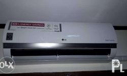 LG split type aircon with 10ft. Free installation 69%