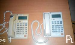 2 IP phones for office/call center use. Both units are