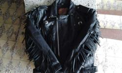 Still negotiable Authentic leather jacket Size XL