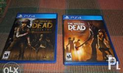 These are 2 Used PS4 games in excellent condition! The