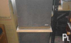 2 Bose speakers for sale! RFS: for disposal; Storage