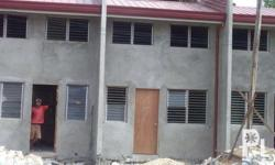 TWO (2) STOREY ROW HOUSE - BARE Lot Area: 48 Square