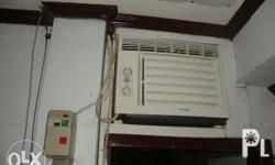 Two months used carrier air conditioning unit. Almost