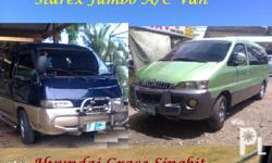 2 Units to chose from 1) Hyundai Grace Van Singkit