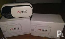 2 VR Box w/ Lens Cleaner Quantity : Two (2) 1 New and 1