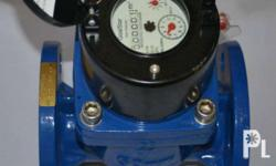 50mm 2' water meter non clog paddle type for waste