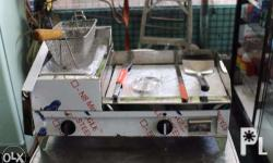 For Sale Brand New Burger Griddle w/ Deep Fryer and