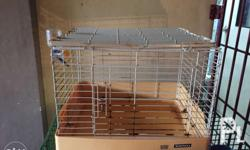 2nd hand dog cage good for small breed dog onli Pwed