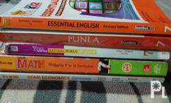 selling second hand k12 books web dev.1-300 mapeh in