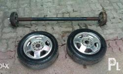 "2pc 12""Michelin Tires and Mags for sale!!! 3800 pesos"