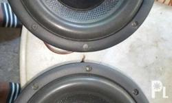 For sale 2pcs lightning lab 8inchs subwoofer xls gud as