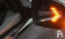2 Pcs Car Rear View Mirror LED Arrow Panel -Brand New