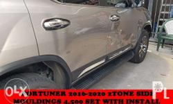 2tone side mouldings fortuner 2016 2017 2018 visit us