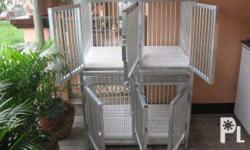 Made to order 2x3 ft. aluminum dog cage Actual
