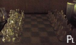 3-in-1 glass chess game board ? Iloilo City