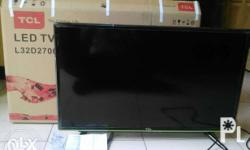 """For Sale """""""" 32"""" LCD Flat Screen TCL TV Still fresh"""