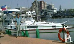 33 footer sailboat, with engine and sail. located at