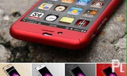 360 full case for iphone With tempered glass Material :