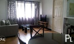 This furnished 3 bedroom condo unit with balcony has a