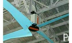 hvls fan we have 3 blades and 4 blades hvls fan, energy