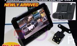 Dash Cam 3-Lens Full HD 1080P 3 Camera DVR Php. 1,999 =