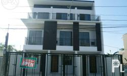BRAND NEW 3 STOREY TOWNHOUSE FOR SALE Mindanao Avenue,