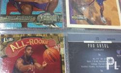 Tracy mcgrady nba basketball cards. Check out my other