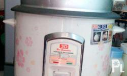 FOR SALE! 3D Automatic Rice Cooker with Steamer (Box
