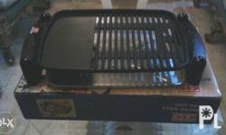 Indoor griller. Once lang nagamit. With box.