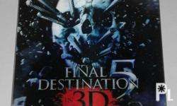 For sale Final Destination 5 Blu-ray disc.comes with 2