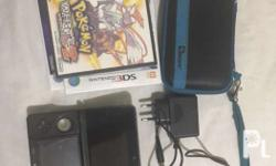 3DS Bundle Includes: -3DS Case with AR Card -Charger